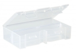 Kleinteilebox aus Kunststoff mit variabler Facheinteilung