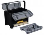 Profi-Werkzeugkoffer D26 mit ergonomischem Aluminiumgriff bei ZHS kaufen