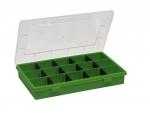 Restposten günstig Sortimentskasten grün 3-15 Fächer bei ZHS Kaufen
