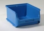 blaue Sichtboxen Lagerboxen 2 breit bei ZHS Kaufen
