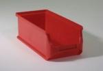 rote Sichtboxen Lagerboxen 2 lang bei ZHS Kaufen