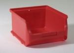 rote Sichtboxen Lagerboxen 2 breit bei ZHS Kaufen