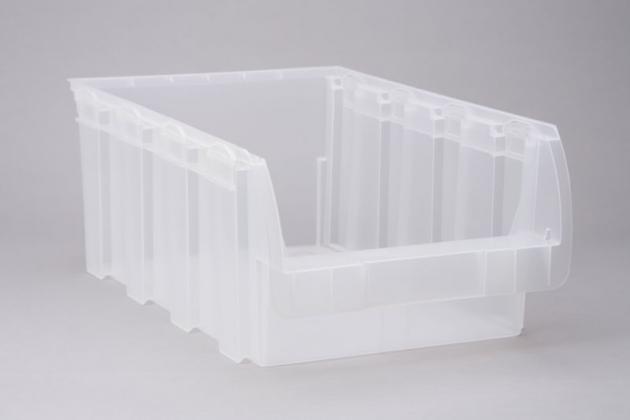 456455 allit sichtlager stapelboxen profiplus compact 5 transparent. Black Bedroom Furniture Sets. Home Design Ideas
