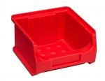 Sichtboxen Lagerboxen GripBox 1 rot bei ZHS Kaufen