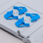 Schiebeschnappverschluss blau zu EuroBoxen bei ZHS kaufen