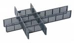 Polycarbonat Service- und Montagekoffer Zubehör Trennstege Set2 bei ZHS kaufen