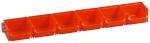 Sicht-Lagerboxen rot 1 Set bei ZHS kaufen