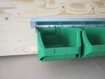 Schwerlastschienen und Boxen grün bei ZHS kaufen