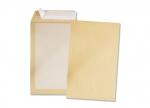 Produktbild 5 Versandtaschen C5 braun haftklebend ohne Fenster mit Papprücken