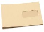 10 Versandtaschen C5 braun nassklebend mit Fenster bei ZHS kaufen