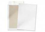 3 Versandtaschen B4 weiß haftklebend ohne Fenster mit Papprücken bei ZHS kaufen