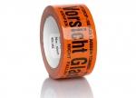 Packband Vorsicht Glas Orange 66 m x 55 mm bei ZHS kaufen