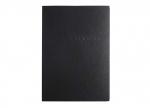 5 x Bewerbungsmappe 3teilig schwarz bei ZHS kaufen