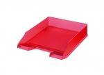 5 x Ablagekorb A4, rot transluzent bei ZHS kaufen
