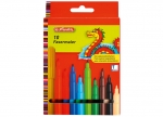 8 x Fasermaler 10er LB-Farben, medium bei ZHS kaufen