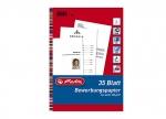 Bewerbungspapier A4 35 Blatt 100g weiß bei ZHS kaufen