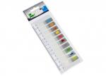 12 x Folien-Pagemarker auf Kunststofflineal bei ZHS kaufen