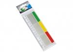 12 x Index Tabs auf transparentem Kunststofflineal bei ZHS kaufen