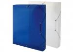 10 x Heftbox A4, blau, transluzent 4 cm bei ZHS kaufen