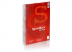 6 x Spiralblock A4 160 Blatt, kariert bei ZHS kaufen