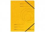 10 x Eckspanner A4, gelb