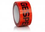 6 x Packband Gesperrt 66 m x 50 mm, rot bei ZHS kaufen