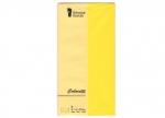 10 x Briefumschläge nassklebend DIN lang, gelb - 5er-Set bei ZHS kaufen