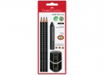 Bleistift Set Grip 2001, schwarz - 5tlg.bei ZHS kaufen