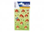 10 Sticker Glückspilz - 3 Blatt bei ZHS kaufen