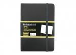 10 x Notizbuch kariert A6, 80g, schwarz bei ZHS kaufen