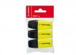 5 x Textmarker Mini gelb - 3er Set bei ZHS kaufen