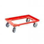 Euroboxen Rollwagen rot günstig bei ZHS kaufen