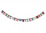 10 x Buchstabenkette Herzlich Willkommen bei ZHS kaufen