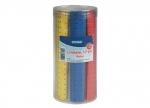 100 x Lineal Kunststoff 17 cm farbig bei ZHS kaufen