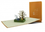 5 x Klappkarte Hase im Gras bei ZHS kaufen