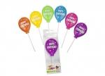 16 x Birthday Fun Stabkerze-Luftballon bei ZHS kaufen