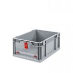 Eurobehälter Store F 417 grau/rot bei ZHS günstig Kaufen