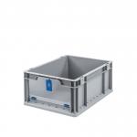 Eurobehälter Store F 417 grau/blau bei ZHS günstig Kaufen