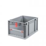 Eurobehälter Store F 422 grau/rot bei ZHS günstig Kaufen