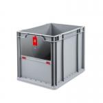 Eurobehälter Store F 432 grau/rot bei ZHS günstig Kaufen