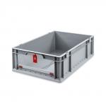 Eurobehälter Store F 617 grau/rot bei ZHS günstig Kaufen