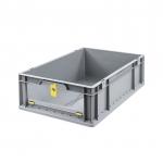 Eurobehälter Store F 617 grau/gelb bei ZHS günstig Kaufen
