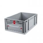 Eurobehälter Store F 622-1 grau/rot bei ZHS günstig Kaufen