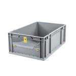 Eurobehälter Store F 622-1 grau/gelb bei ZHS günstig Kaufen