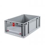Eurobehälter Store F 622-2 grau/rot bei ZHS günstig Kaufen