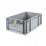 Eurobehälter Store F 622-2 grau/gelb bei ZHS günstig Kaufen