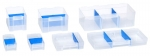 Allit 464722 Längs Trennstege 5x2C für VarioPlus PRO Kleinteilschubladen blau