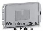 206 St. Deckel zu Letterbox, Postbehälter Gr. 1 bis 2 grau