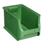 456283 Allit Sichtlager-Stapelboxen ProfiPlus Box 4H grün
