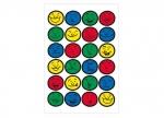 10 x Sticker Gesichter